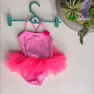 OP 1 Piece Infant Ballerina tutu Swimsuit 18 Mon